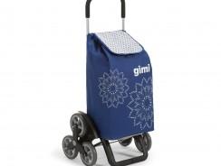 Le chariot de courses Gimi Tris Floral, un fidèle compagnon!